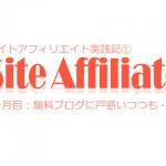 サイトアフィリ実践記:1ヶ月目!無料ブログに戸惑いつつも。。